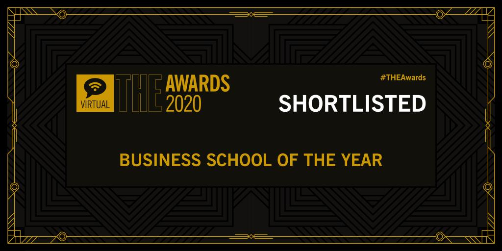 Times Higher Education awards shortlist graphic