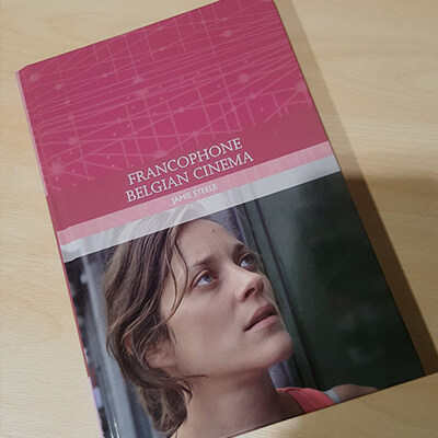 The book Francophone Belgian Cinema on a table2