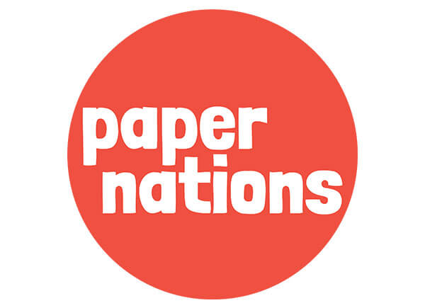 Paper nations logo