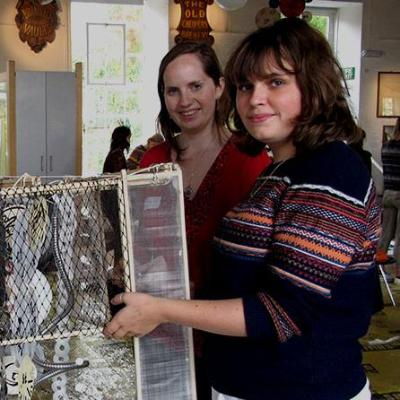 Students hold design project2